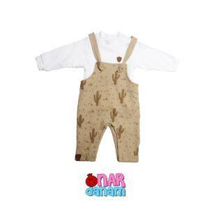 سرهمی اسپرت طرح کاکتوس Flexi Baby سایز 1 تا 3 ماه