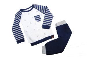 ست لباس نوزادی پسرانه طرح گوسفند Mymio |سایز 6 تا 18 ماه