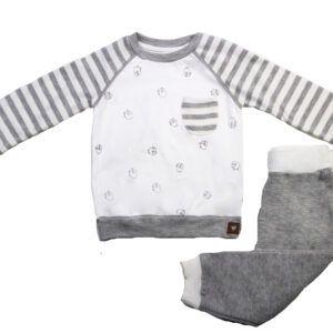 ست لباس نوزادی پسرانه طرح گوسفند Mymio سایز 6 تا 18 ماه