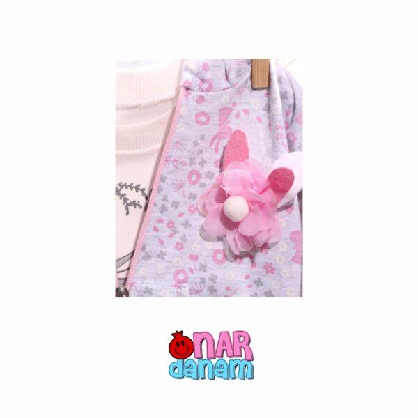 ست بلوز و شلوار طرح خرگوش Baby Hi سایز 12 تا 18 ماه