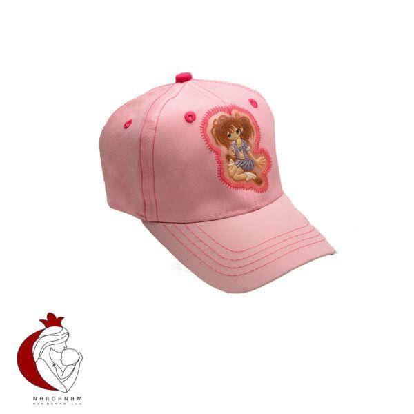 کلاه کپ دخترانه طرح انیمه Tidi kidy مناسب برای 3 تا 7 سال