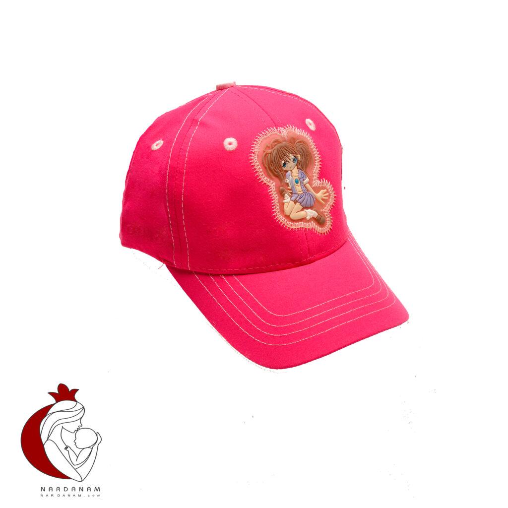 کلاه کپ دخترانه طرح انیمه