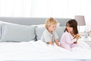 6 راه حل برای به رختخواب رفتن کودکان