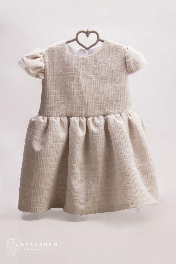 پیراهن دخترانه مجلسی ناردانام مدل آنیسا سایز 1 تا 8 سال